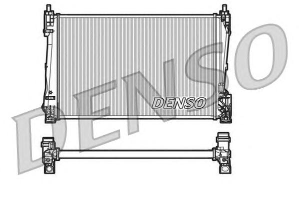 DRM20090 Радиатор OPEL CORSA 1.3D 06-