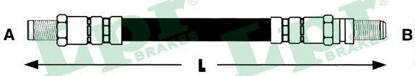 6T47471 Шланг тормозной FORD FIESTA 95-02 задний