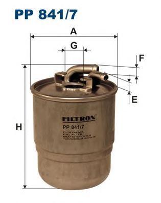 PP8417 Фильтр топливный MB W203/211/164/SPRINTER (901-906) 2.2D-4.2D