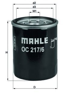 OC2176 Фильтр масляный SUZUKI 1.0-2.5