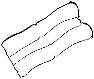 713433300 Прокладка клапанной крышки Ford Mondeo 2.0 16V 5/99