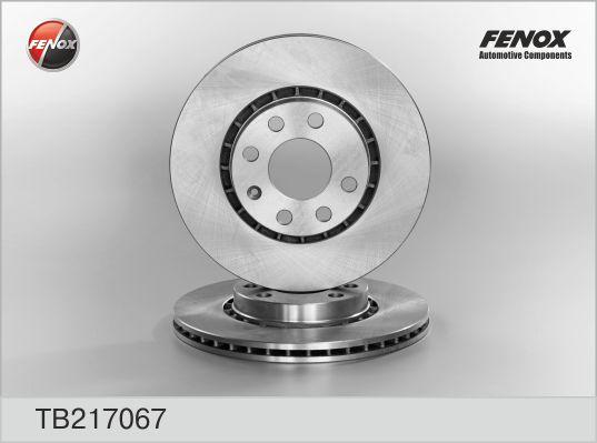 TB217067 Диск тормозной  Opel Astra F 92-98, Astra F Хечбэк 91-98, Astra F Унив