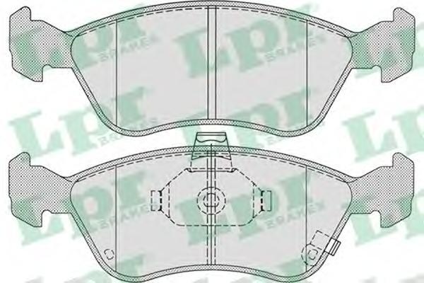 05P709 Колодки тормозные дисковые передн TOYOTA: AVENSIS 97-03, AVENSIS Liftback 97-03, AVENSIS Station Wagon 97-03