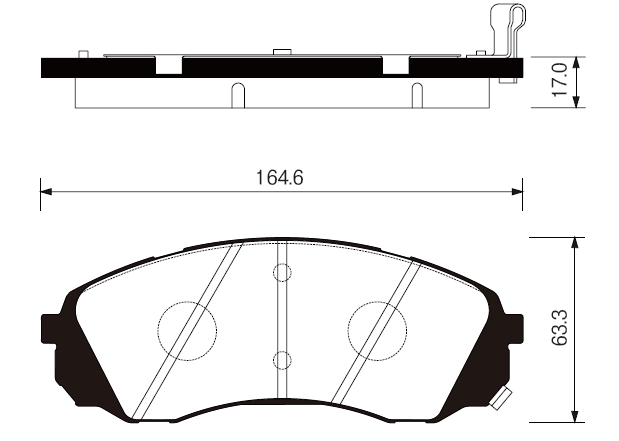 SP1238 Колодки тормозные HYUNDAI H1 02-/KIA CARNIVAL 06- передние