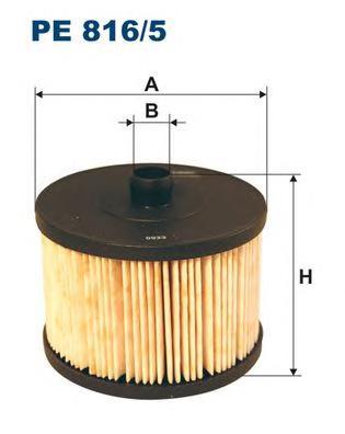 PE8165 Фильтр топливный FORD FOCUS II/CITROEN/PEUGEOT/VOLVO 2.0 TDCI