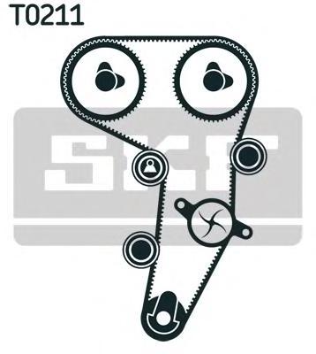 VKMA01255 Комплект ремня ГРМ Audi/VW 2.0TDi 16V BLB/BNA 03 Z=141x30