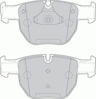 FDB1597 Колодки тормозные LANDROVER RANGE ROVER III 02- передние
