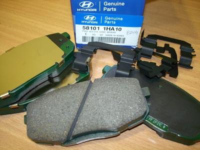 581011HA10 Колодки тормозные передние I30