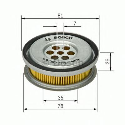 1457429416 Фильтр системы ГУР MB W123/W201/W124/W202