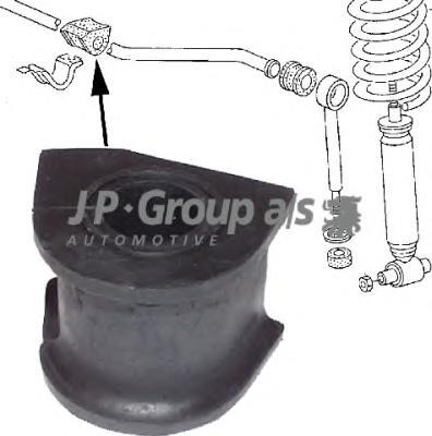 1140600600 Втулка переднего стабилизатора 21mm / VW Transporter T-2 79~