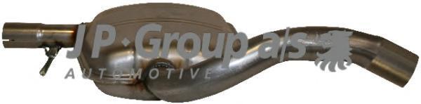 1120500200 Резонатор средняя часть / VW Golf-III,Vento 1.6/1.9D/2.0 91-98