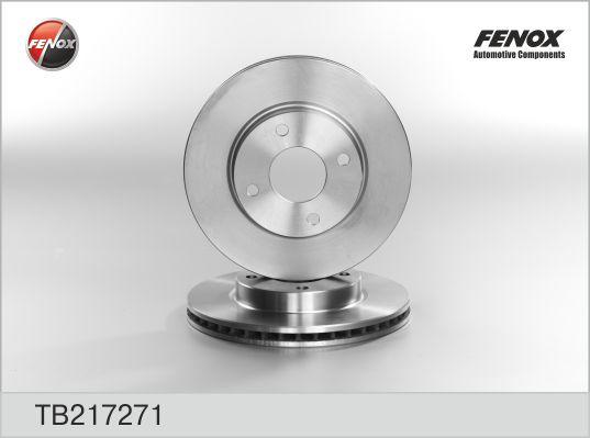 TB217271 Диск тормозной FORD MONDEO 93-00/SCORPIO 93-98 передний D=260мм.