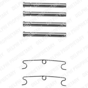 lx0170 Комплектующие, колодки дискового тормоза