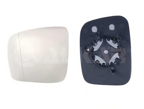 6402985 Стекло зеркала правое, сферическое / VW Caddy, T5 03~