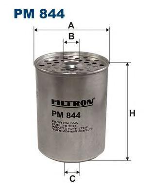 PM844 Фильтр топливный FORD/RENAULT/PEUGEOT/CITROEN