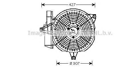 hy7515 Вентилятор, конденсатор кондиционера