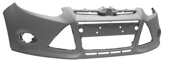 FC11200 Бампер передн грунт FORD: FOCUS 07.11-