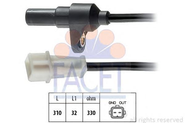 90142 Датчик положения коленвала RENAULT: SAFRANE II (B54_) 2.5 20V (B54F) 96-00, SAFRANE Mk II (B54_) 2.5 20V (B54F) 96-00  VOL