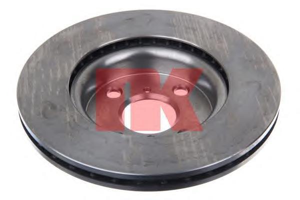 2045115 Диск тормозной TOYOTA YARIS 06- (пр-во Франция) передний вент.D=258мм.