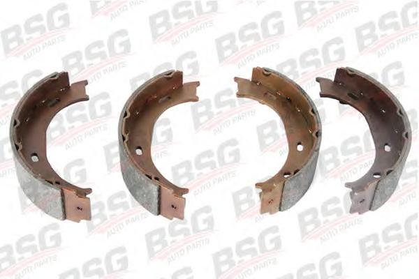 BSG60205002 Колодки стояночного тормоза барабанные / VW LT 28-35; M.B. Sprinter (BM901-903) (160x40) 95~
