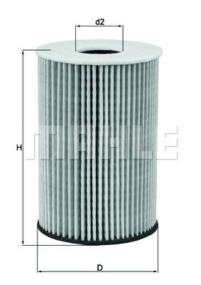 OX787D Фильтр масляный VAG 1.6D-2.0D 12-