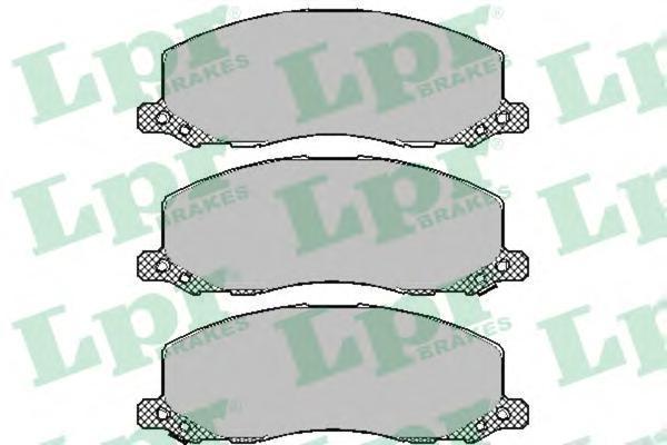 "05P1468 Колодки тормозные OPEL INSIGNIA 08-/SAAB 9-5 10- R18"" передние"