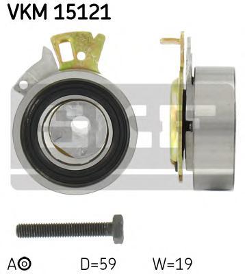 VKM15121 Ролик ГРМ DAEWOO NEXIA/CHEVROLET AVEO/LANOS 8v