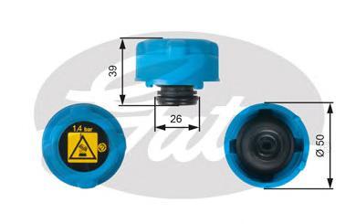 RC216 Крышка расширит.бачка CITROEN JUMPER/FIAT DUCATO/PEUGEOT BOXER 06-