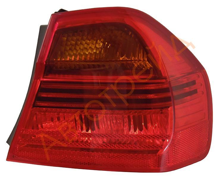 4441930RUE Фонарь задн.R BMW E90 04- красный
