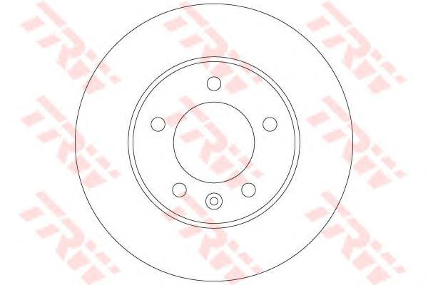 DF6120 Диск тормозной RENAULT MASTER III/OPEL MOVANO 10- задний