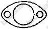 256634 Уплотнительное кольцо, труба выхлопного газа