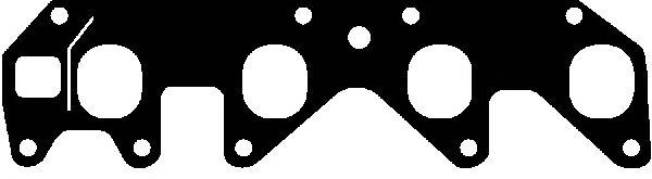 X0428101 Прокладка кол всос Opel 1,2-1,3 OHC