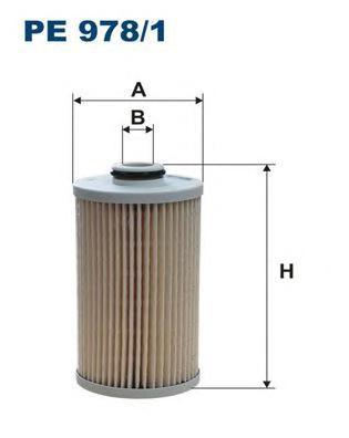 PE9781 Фильтр топливный HONDA ACCORD/CR-V 2.2D 07-