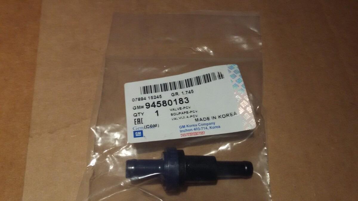94580183 Клапан вентиляции картера двигателя