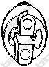 255381 Подвеска глушителя HYUNDAI ACCENT 03- (ТАГАЗ)/VERNA/GETZ 02-