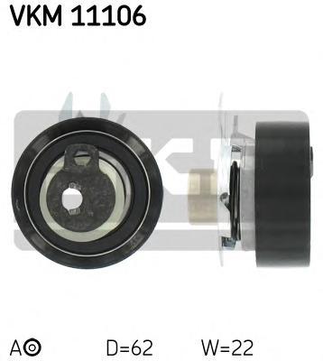VKM11106 Ролик натяжной ремня ГРМ VW Caddy 1.4 11/95