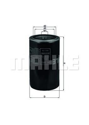 OC582 Фильтр масляный IVECO DAILY 3.0D 04-