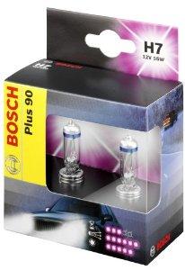 1987301075 Лампа H7 55W PX26d Plus 90 (компл.blister 2шт.)