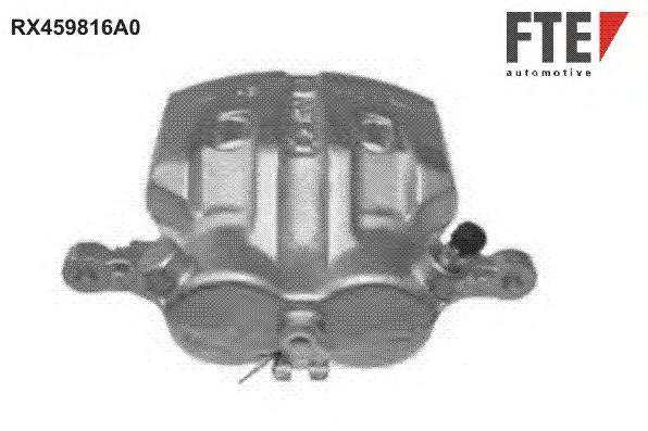 RX459816A0 Тормозной суппорт Fr R NI X-Trail (T30) восст.
