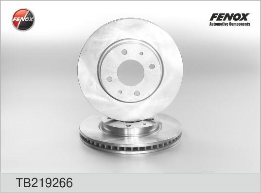 TB219266 Диск тормозной MITSUBISHI GALANT VI 9604/LANCER 03 передний вент.
