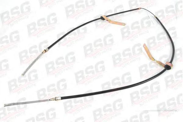 BSG30765001 Трос ручного тормоза / FORD Transif (одинарные колеса) 91~