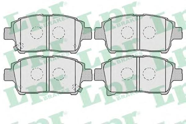 05P1003 Колодки тормозные TOYOTA COROLLA/PRIUS/YARIS 1.0-1.6 99- передние