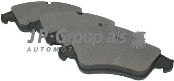 1163601510 Колодки тормозные дисковые передние / M.B Sprinter ;VW LT 28-46 96~
