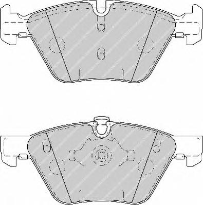 FDB1773 Колодки тормозные BMW E90/E60 1.8-3.0 03- передние