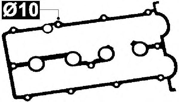 11056400 Прокладка клапанной крышки MAZDA 626 1.8/2.0 91-98
