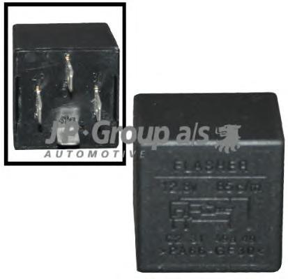 1199208400 Реле поворотников (4+2x21w) / AUDI,FORD,OPEL,SEAT,VW 74~