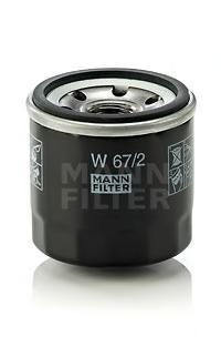 W672 Фильтр масляный SUZUKI BALENO 1.3/1.6 95-02/SWIFT 1.0/1.3/1.6