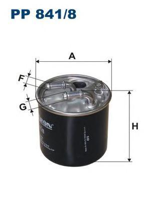 PP8418 Фильтр топливный MB W204/212/X164/204/W164/906 CDI 08-