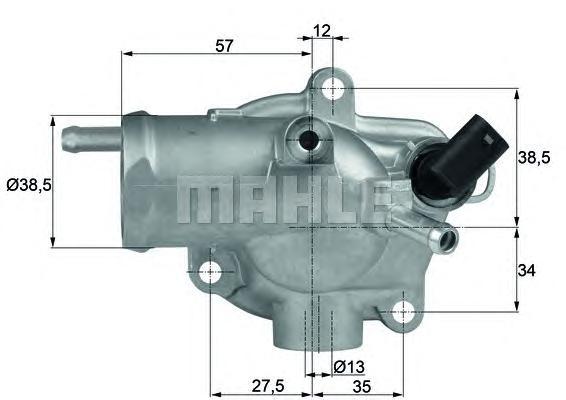 TH1392 Термостат MB W203/W210 2.2D/2.7D 98-07