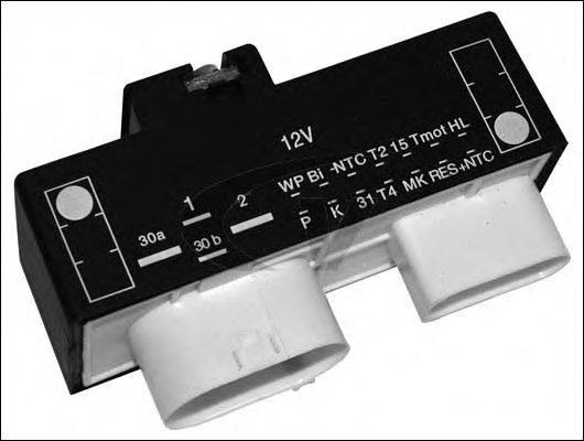 1J0919506K Блок управления вентиля-